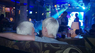 Pareja gay en Sochi