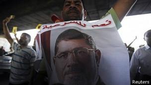Simpatizantes de Morsi