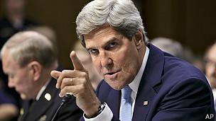 Secretario de estado de EEUU, John Kerry