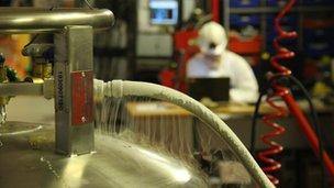Laboratorio en la mina de Boulby