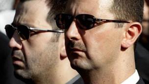 Bashar y Maher al Asad
