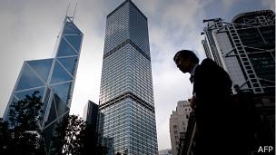 香港中环金融区(6/9/2013)