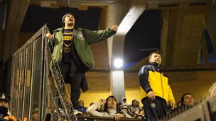 Fans de Boca Juniors en Argentina