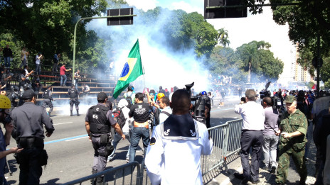 Protesto no Rio | Foto: Julia Carneiro