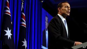 澳大利亞當選總理阿博特