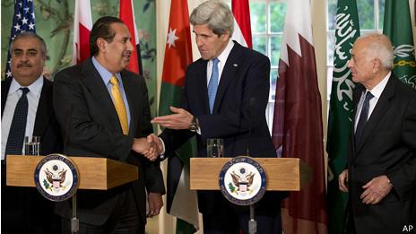 Mỹ tìm kiếm ủng hộ từ liên minh Ả-rập về Syria