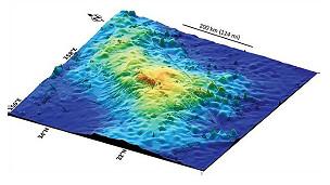 Imagen gráfica del volcán