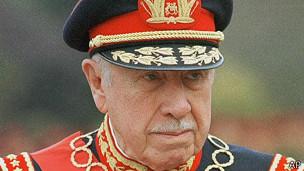 Augusto Pinochet en 1998