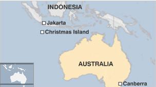 peta jakarta australia