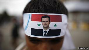 Partidario de Asad en Yemen