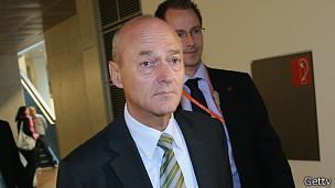 Gerhard Schindler, director de la agencia alemana de inteligencia