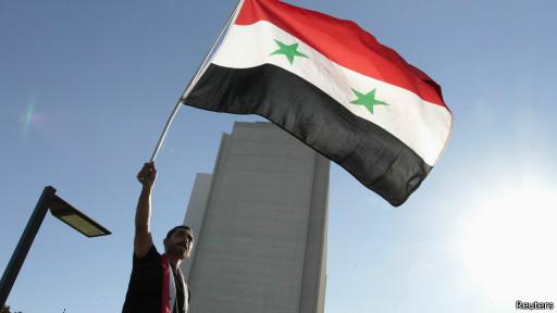 Bandeira da Síria (Reuters)