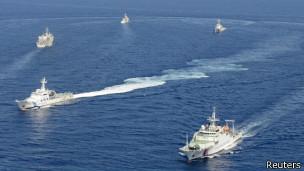 Tàu của Trung Quốc gần đảo Senkaku/Điếu ngư