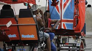 Pedicabs, uno de los negocios de turismo privado florecientes en Cuba