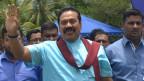 President Rajapaksa in Vavuniya (file photo)