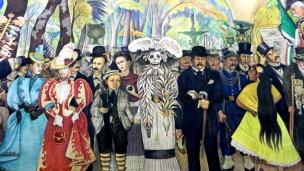 Sueño de una Tarde Dominical, Diego Rivera. Sindicable sólo una vez