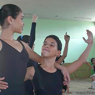 Estudiantes de ballet (Foto: Raquel Pérez)
