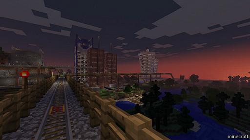 pantalla del juego Minecraft