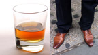 brogues, whisky