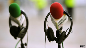 Micrófonos de la BBC