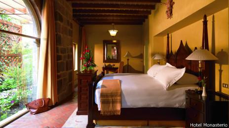 Cuarto del Hotel Monasterio