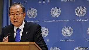 Ban ki Moon, secretario general de la ONU