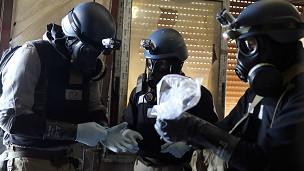 Inspectores de armas de la ONU