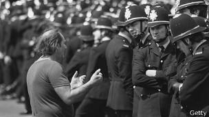 Huelga de mineros en el Reino Unido