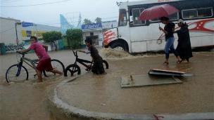 Inundaciones en México, foto AP.