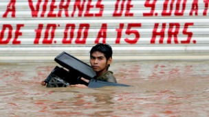 Inundaciones en México, foto Getty Images.