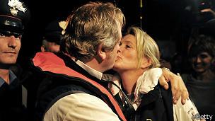 Nick Sloane y su esposa