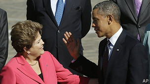 Rousseff y Obama en el G20