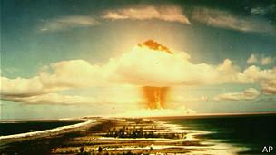 Explosión nuclear.
