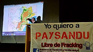 Reunión en Paysandú de ONGs para debatier el posible uso de fracking en Uruguay