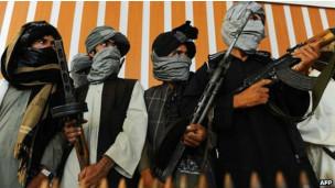 Insurgentes talibanes