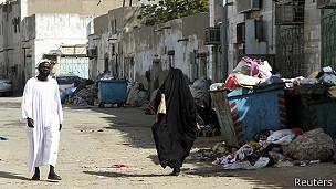 Una favela en Arabia Saudita