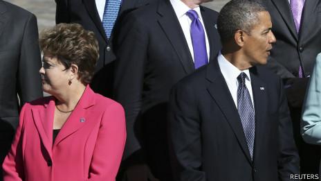 Dilma e Obama, no G20 em São Petersburgo. Foto: Reuters