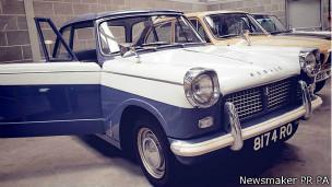 Triumph Herald de 1961 que será vendido en una subasta
