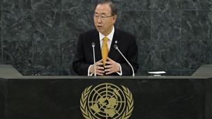 Tổng thư ký LHQ, ông Ban Ki-moon