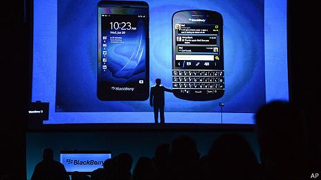 lanzamiento del sistema blackberry 10 en marzo 2013