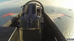 Cabina de un F-16