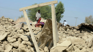Dampak gempa di Pakistan