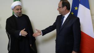 Rouhani và Hollande