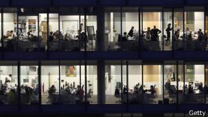 vista de un edificio de ofinas de Londres