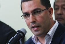 Venezuela's Vice-President Jorge Arreaza