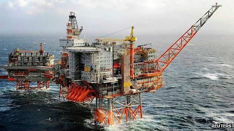 Plataforma petrolera en Valhall