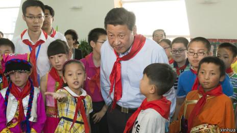习近平与中国少年