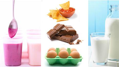 cinco comidas que se pueden comer