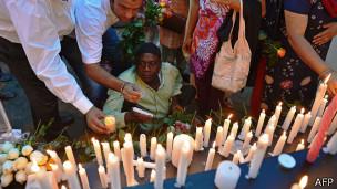 Vigilia por las víctimas de Westgate