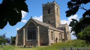 Iglesia de San Andrés en Paull, Reino Unido